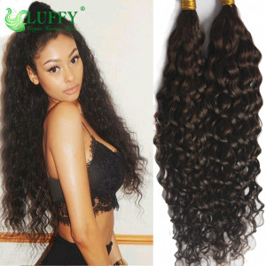 8A Deep Curly Bulk Hair For Braiding 100% Unprocessed Virgin Human Hair Bulk- BK001