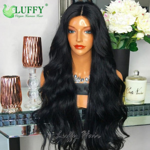 8A Brazilian Virgin Human Hair Body Wave U Part Wig - UWAL006
