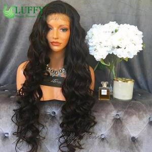 9A Brazilian Virgin Human Hair Body Wave Wig - LWAL004
