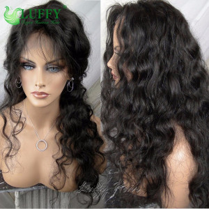 9A Brazilian Virgin Human Hair Body Wave Wig - LWAL003