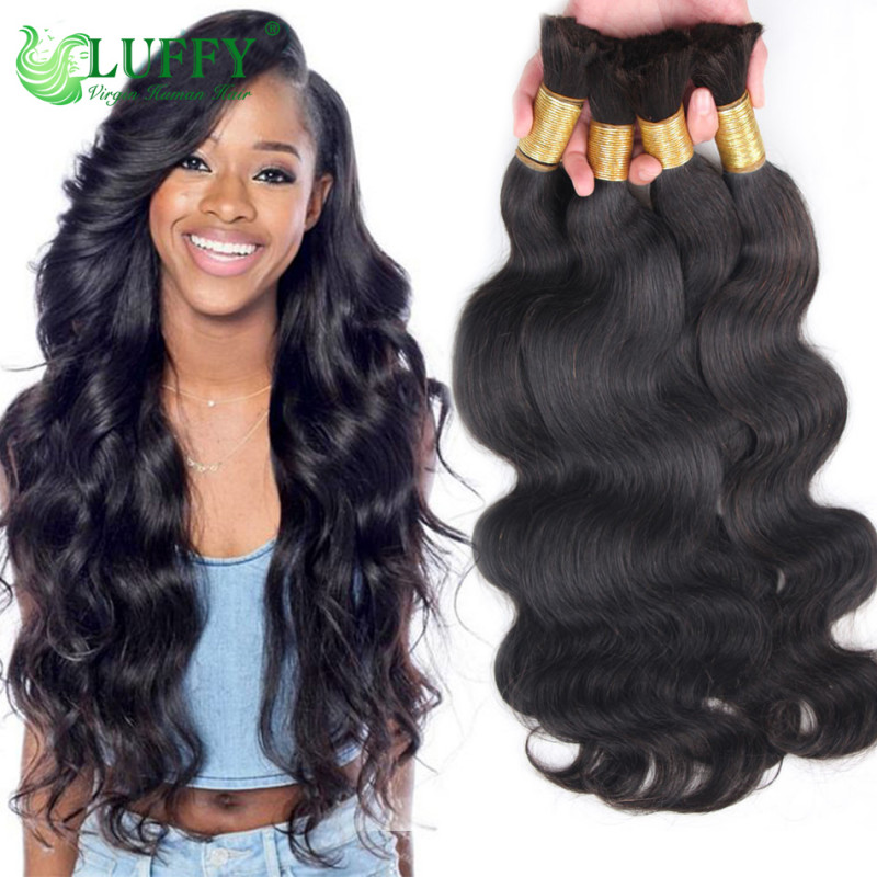 2017 Hot Sale 100 Virgin Brazilian Human Hair Bulk Body Wave Bulk