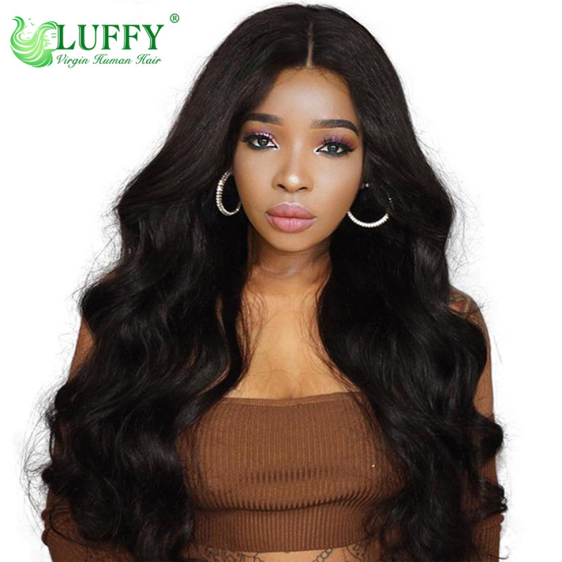 Body Wave Lace Front Human Hair Wigs For Black Women 150% Density Human Hair Wigs Pre Plucked With Baby Hair Remy Wig - WS003